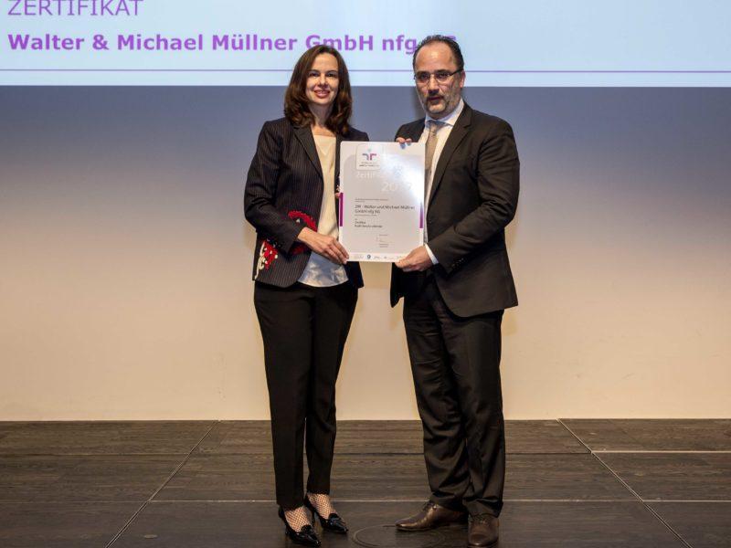 2M 5308 Audit Beruf Und Famile Verleihung Zertifikat
