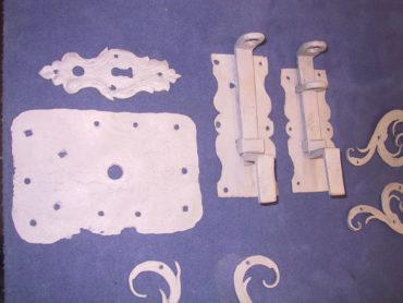 2 M Sandstrahltechnik 105043 Allgemeine Gußteile Torschaniere 007