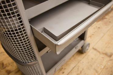 2 M Sandstrahltechnik 135127 Werkzeugwagen 010