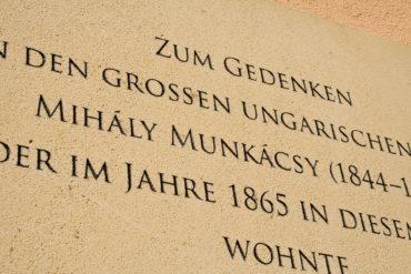 2 M Sandstrahltechnik 264030 Gedenktafel Bezirkmuseum 004